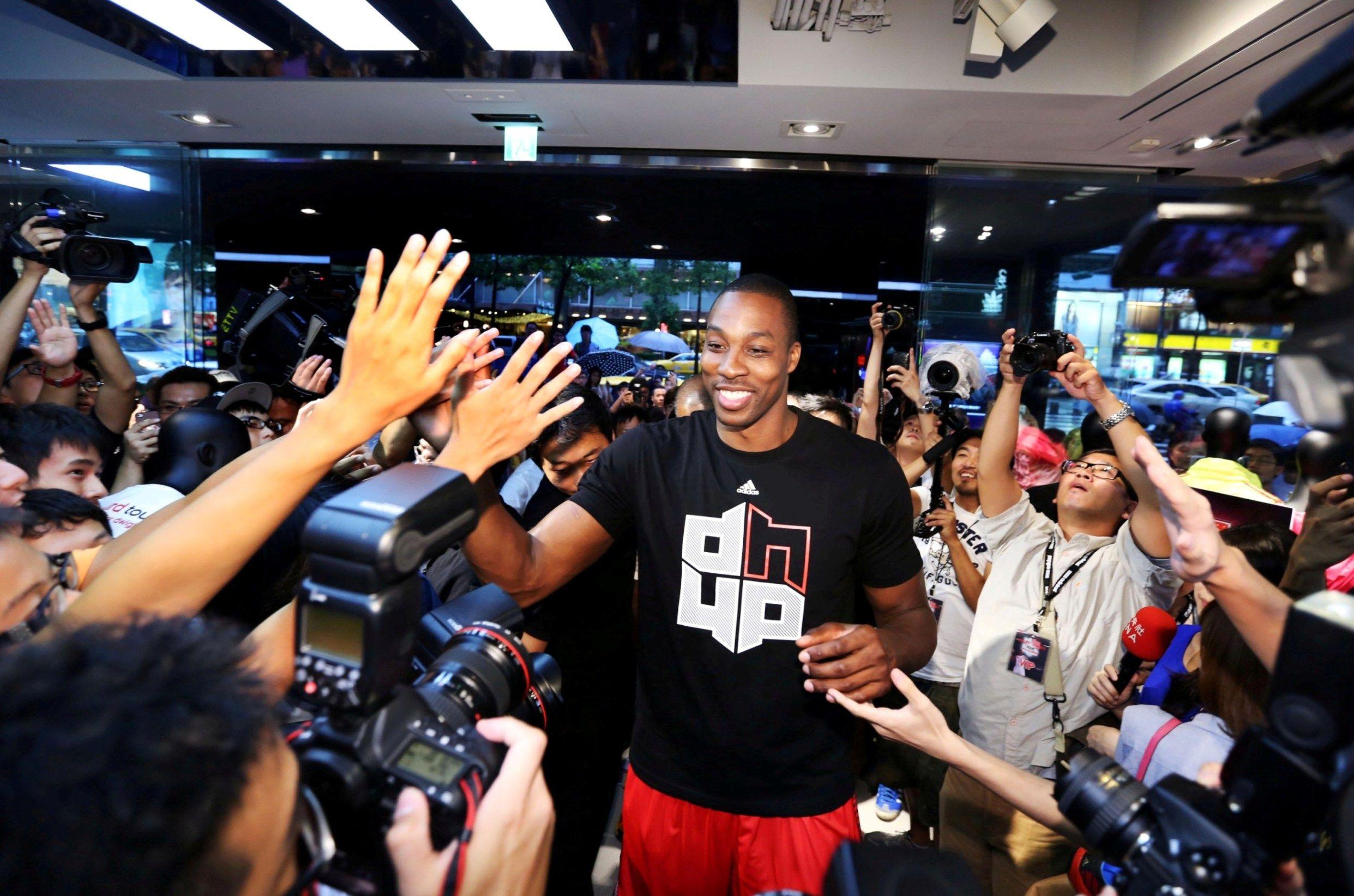 Adidas D Howard Tour In Taipei Taiwan 2