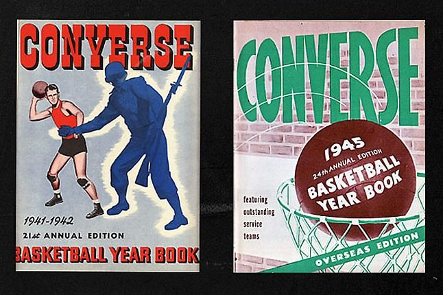 Converse Yearbook 1941 1945 1