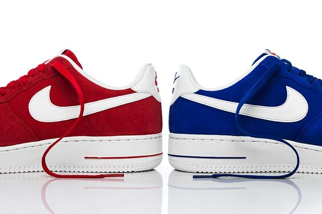 Nike Af1 Blazer Pack Heel Split 1