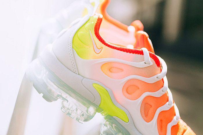 2 Nike Vapormax Plus Womens Reverse Sunset Sneaker Freaker