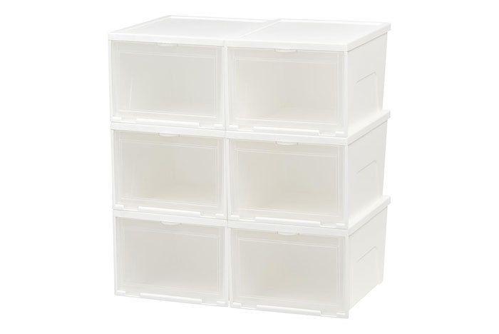 White Iris Shoe Boxes 591702 64 1000