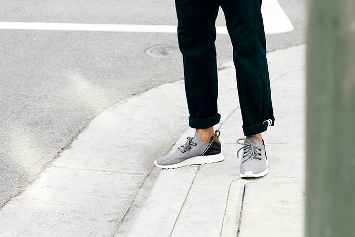 Adidas Zx Flux Adv X Grey Suede On Foot