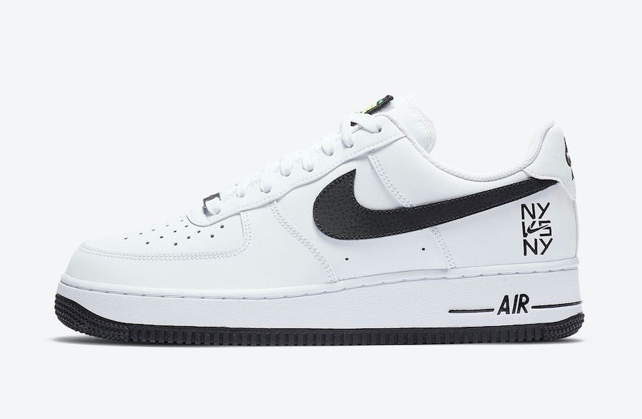 Nike Air Force 1 NY vs NY Left