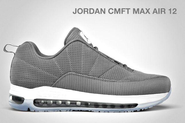 Jordan Cmft Max Air 12 Cool Grey 1