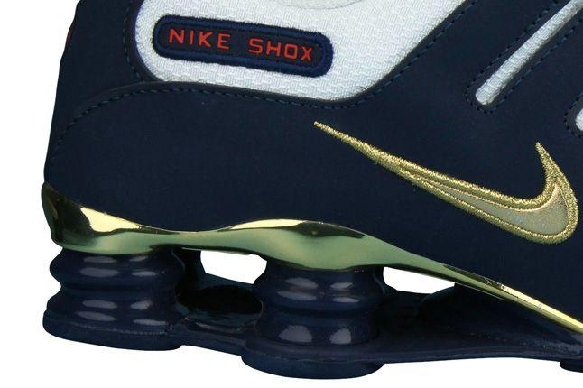 Nike Shox Nz Sole Detail Gold Swosh 1
