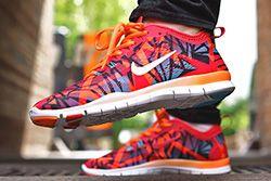 Nike Wmns Free Fractal Print Thumb