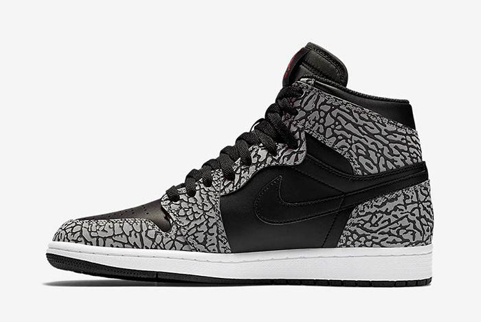 Air Jordan 1 High Black Cement6