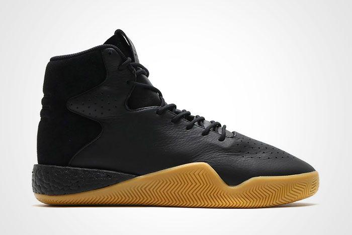 Adidas Tubular Instinct Black Leather Thumb