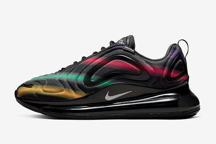Nike Air Max 720 Multi Colour Left