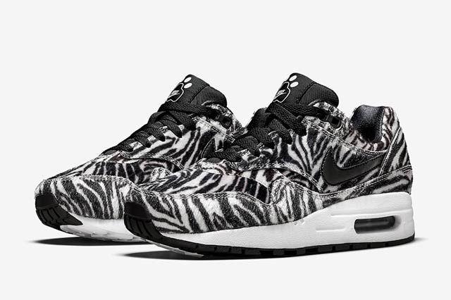 Nike Air Max 1 Gs Zoo Pack Zebra2