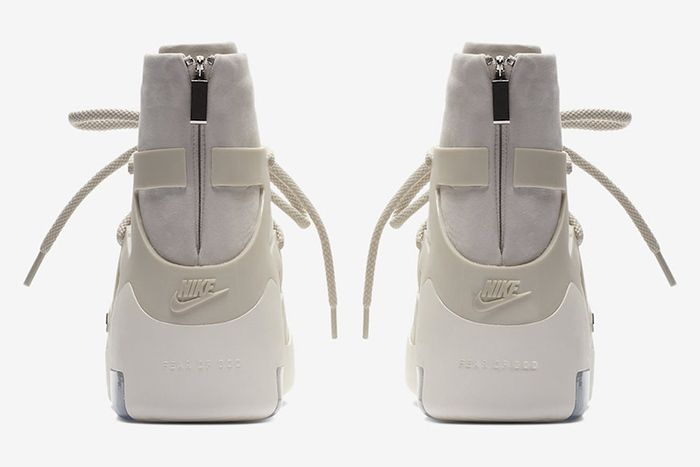 Nike Air Fear Of God 1 Black Official 9