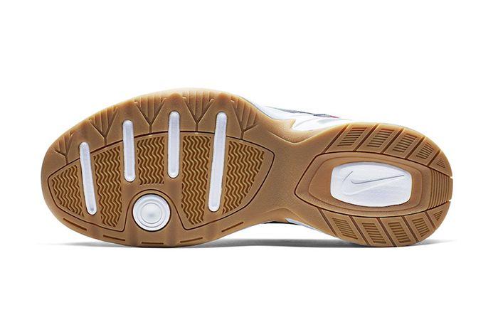 Nike Air Monarch 4 Denim Av6676 400 Release Date Outsole