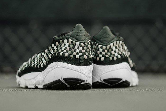 Nike Air Footscape Woven Sequoia Green 1