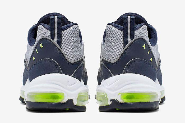 Nike Air Max 98 Obsidian Volt Cn0148 400 Release Date 5 Heel