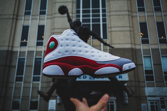 Air Jordan 13 Grey Toe