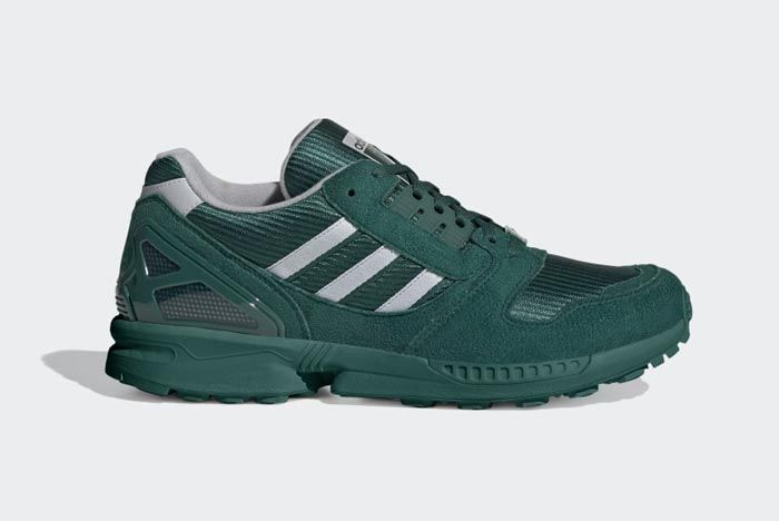 Adidas Zx 8000 Collegiate Green Lateral