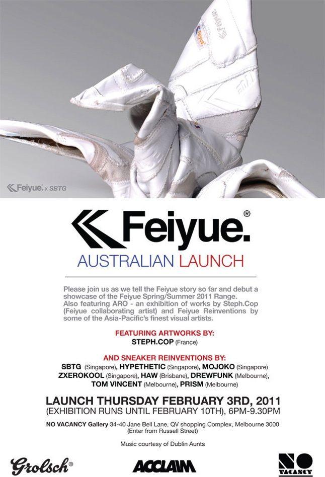 Aus Launch Feiyue 646 1