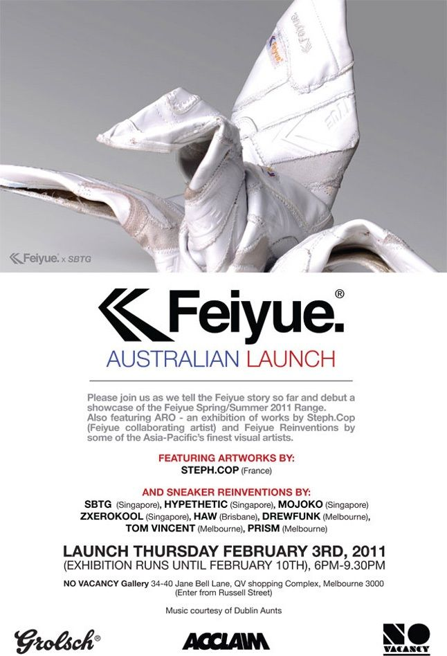 Aus Launch Feiyue 646 1