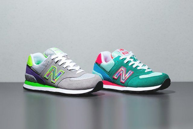 New Balance 574 Hologram Pack 9