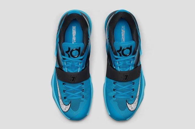 Nike Kd 7 Lacquer Blue Bump 1