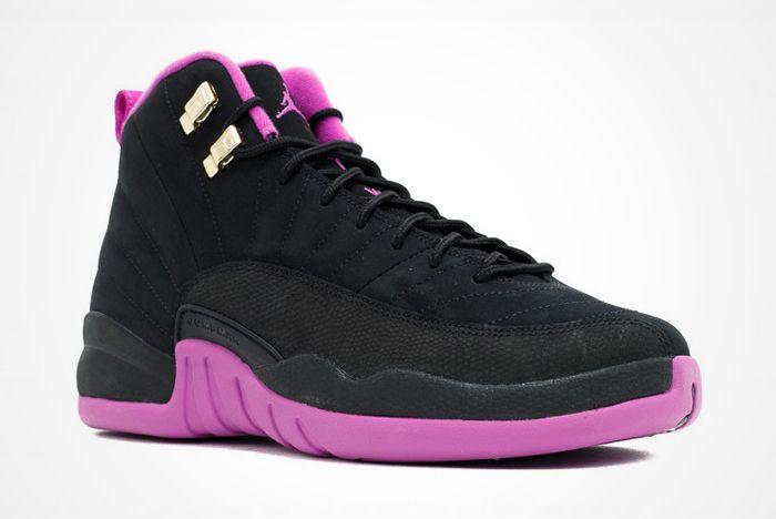 Air Jordan 12 Gs Hyper Violet 1