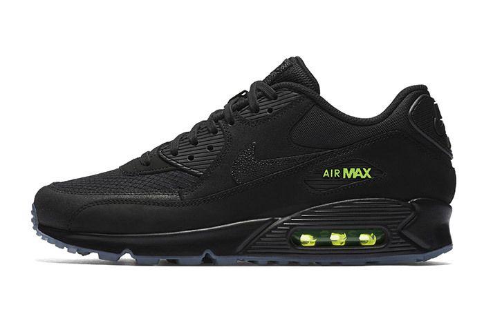 Nike Air Max 90 Black Neon 4