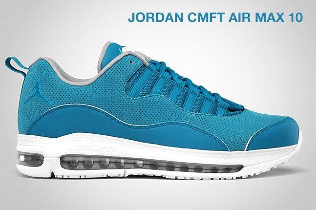 Jordan Cmft Air Max 10 Blue 1