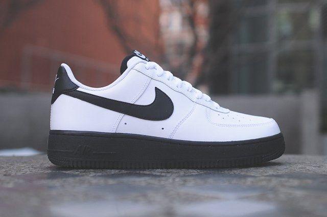 Nike Air Force 1 Low White Black Thumb