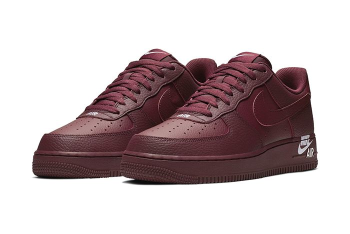 Nike Air Force 1 Low Sail Team Red New Branding 4