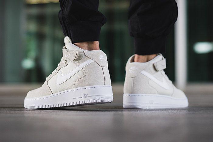 Nike Air Force 1 Mid 07 Light Bone White 2