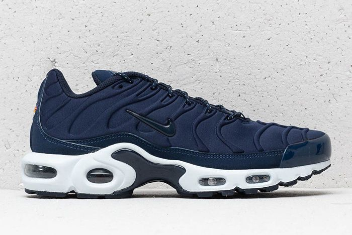 Nike Air Max Plus Se Triple Black Midnight Navy 5