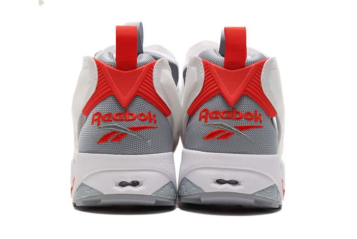 Reebok Instapump Fury 25Th Anniversary White Red Heel