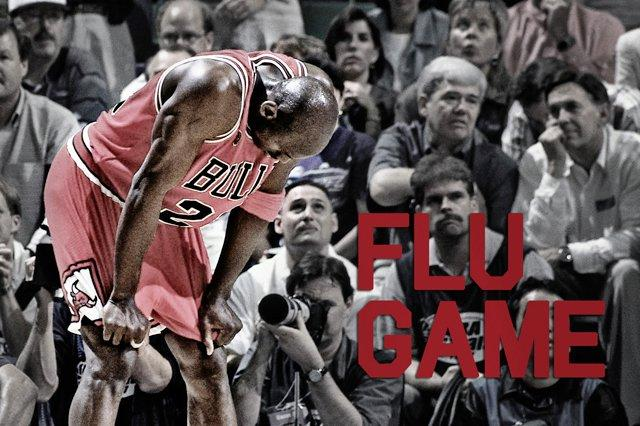Jordan Flu Game Auction 2
