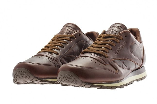 Reebok Classic Leather Lux Horween Chestnut 2