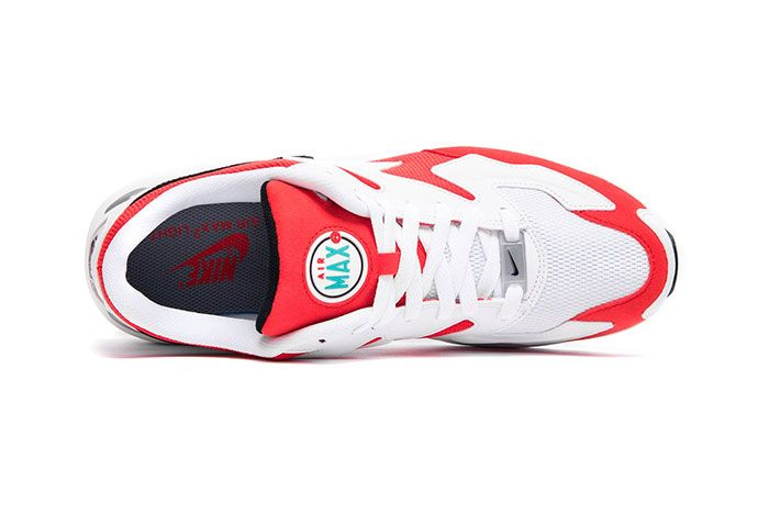 Nike Air Max 2 Light Habanero Red Top Shot 3
