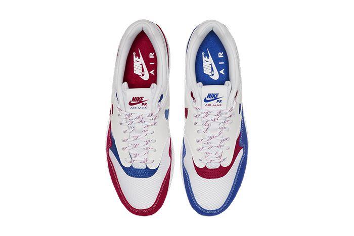 Nike Air Max 1 Premium Puerto Rico 2019 Cj1621 100 Release Date Top Down
