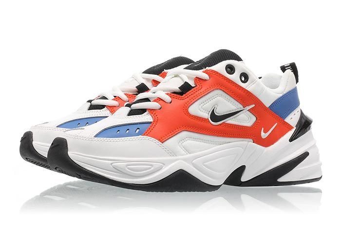 Nike M2K Tekno Summit White Team Orange 4