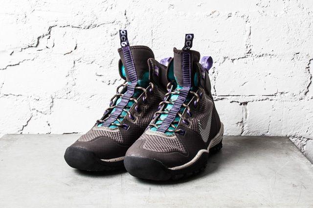 Nike Acg Lunar Icognito Mid Velvet Brown Metallic Silver 4