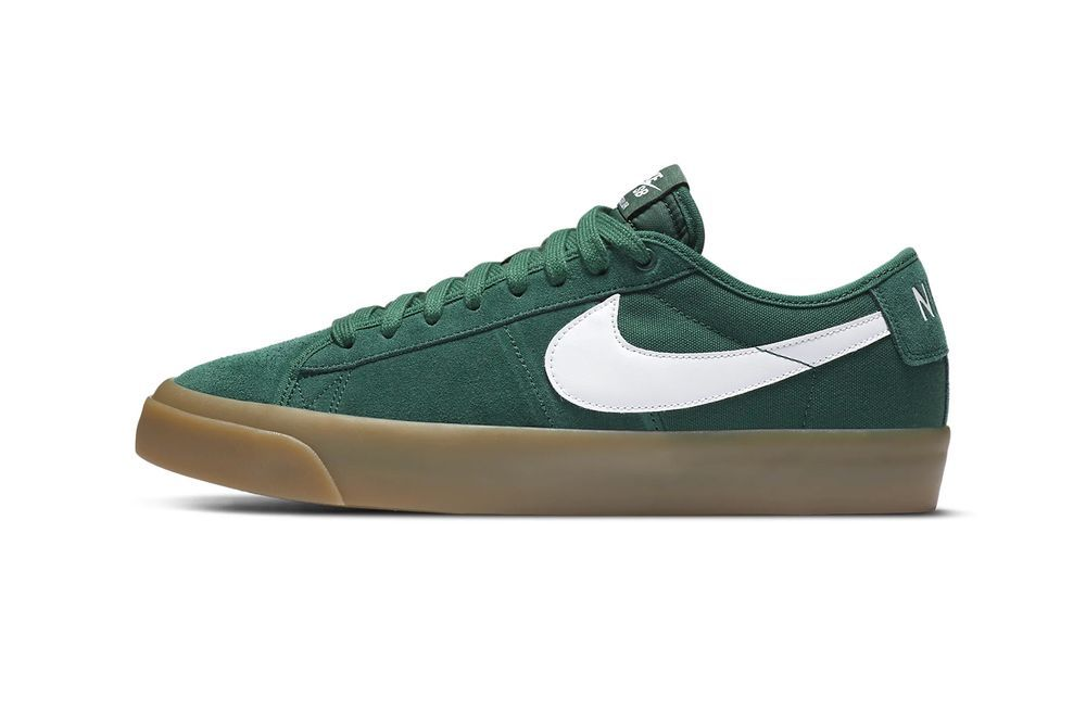 Nike SB Zoom Blazer Green Left