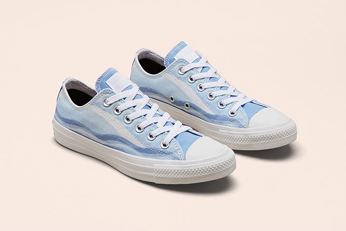 Millie Bobby Brown Converse Chuck Taylor All Star By You Collaboration Release Date Blue Waves