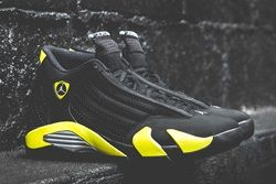 Air Jordan 14 Thunder Bump 1