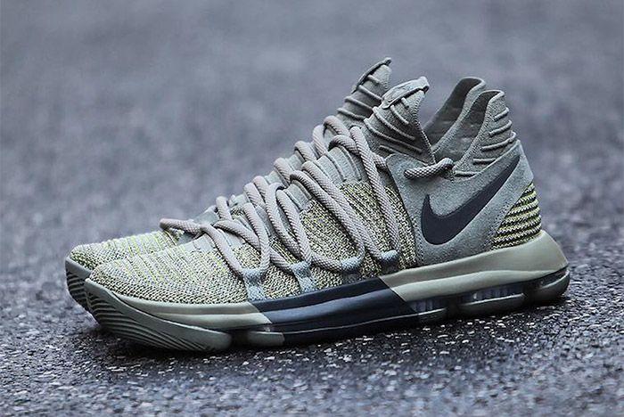 Nike Kd 10 Dark Stucco Anthracite 3 Sneakerfreaker