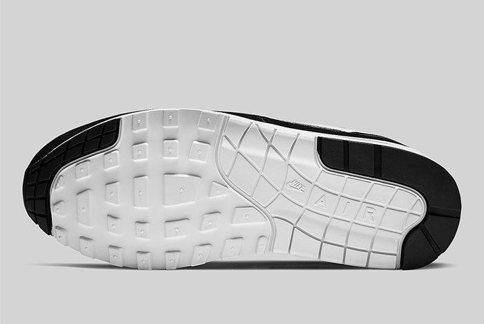Nike Air Max 1 Black And White Ah8145 014 Sole Shot 2