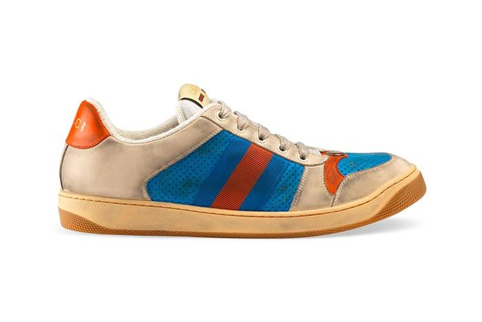 Gucci Distressed Sneakers Gg Canvas Release 6