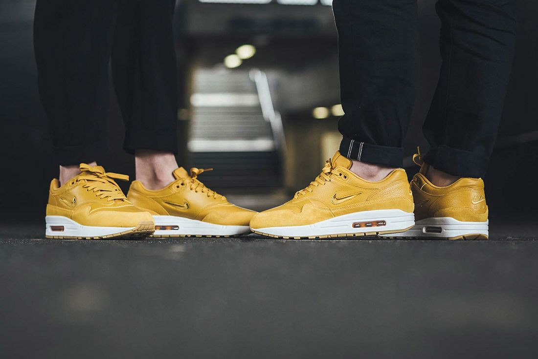 Nike Air Max 1 Jewel Mustard Yellow 7