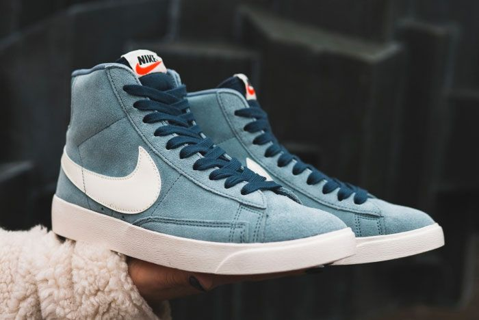 Nike Blazer Monsoon Blue Right