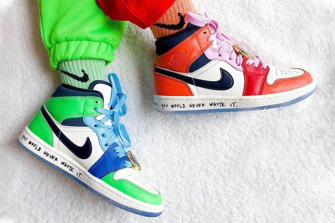 Nike Female Sneakers Air Jordan 1 Sally