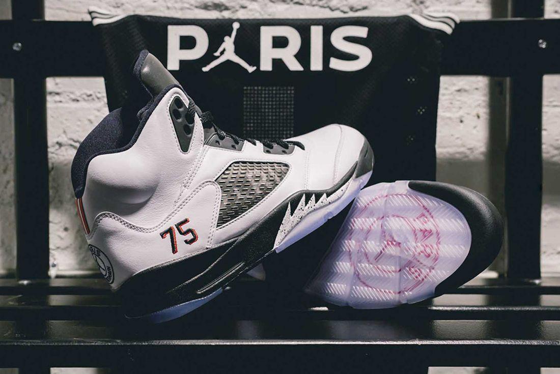 Paris Saint-Germain x Air Jordan 5 'Family and Friends'