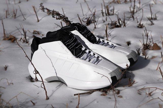 Adidas Crazy 1 White Perspective3