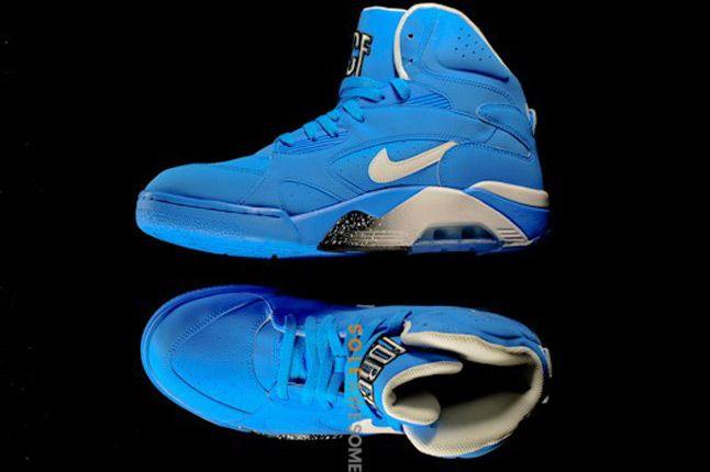 Nike Air Force 180 High Photo Blue Profile 1